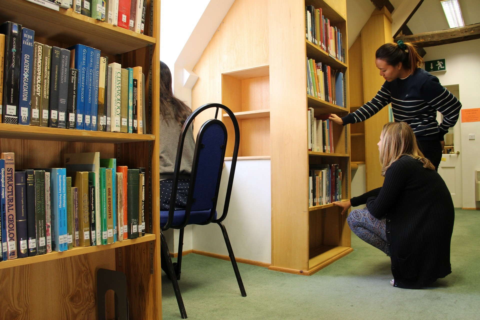 Using The College Library St Chad S College Durham
