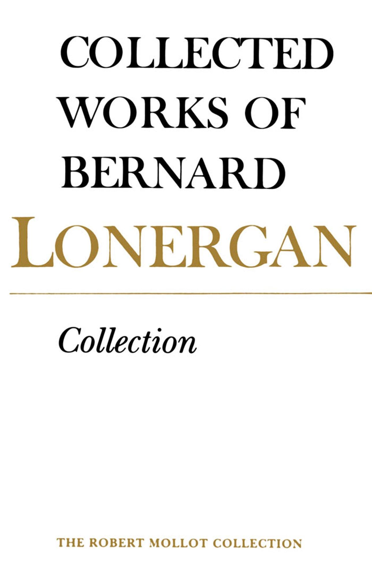 an analysis of the bernard lonergan