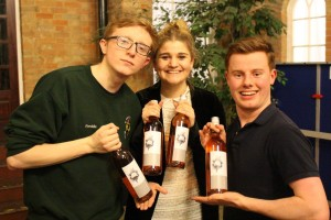 Presenting the WINNERS of Chad's Got Talent: Helena Morgan winning first place, with Freddie and Stod coming second