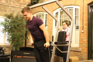 Over 60 continuous parallel dips by our very own Gym Keeper